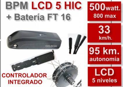 kit eléctrico cicloteck SECOND BIKE MADRID CICLOTECK KIT BPM-LCD5