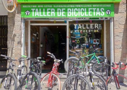tienda taller bicicletas